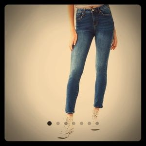 Forever21 Push up mid rise jeans